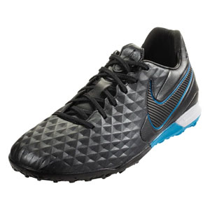 Nike Tiempo Legend VIII Pro TF - Black/Blue Hero Turf AT6136-004