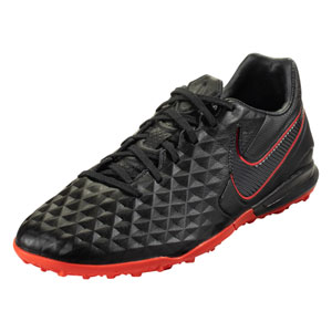 Nike Tiempo Legend VIII Pro TF - Black/Red Turf AT6136-060