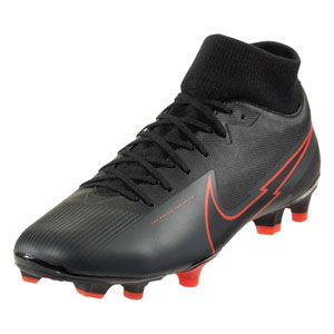 Nike Mercurial SuperFly VII Academy MG - Black/Red AT7946-060