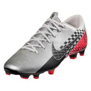 Nike Mercurial Vapor 13 Academy  NJR FG - Chrome/Red Orbit/Platinum Tint AT7960-006
