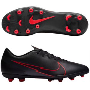 Nike Mercurial Vapor 13 Club MG - Black/Red AT7968-060