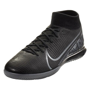 Nike Mercurial Superfly VII Academy IC - Black/Cool Grey Indoor AT7975-001