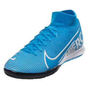 Nike Mercurial Superfly VII Academy IC - Blue Hero/White Indoor AT7975-414