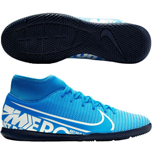 Nike Mercurial Superfly VII Club IC - Blue Hero/White Indoor AT7979-414