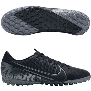 Nike Mercurial Vapor 13 Academy TF - Black/Cool Grey Turf AT7996-001