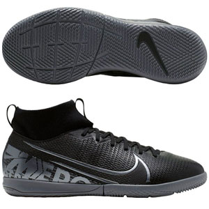 Nike Junior Mercurial Superfly 7 Academy IC - Black/Cool Grey Indoor AT8135-001