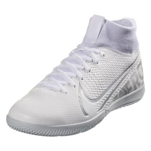 Nike Junior Mercurial Superfly 7 Academy IC - White/White Indoor AT8135-100
