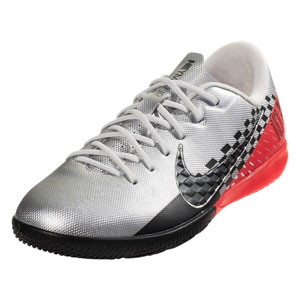 Nike Junior Mercurial Vapor 13 Academy NJR IC - Chrome/Red Orbit Indoor AT8139-006