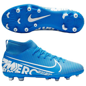 Nike Jr Mercurial Superfly VII Club MG - Blue Hero/White AT8150-414