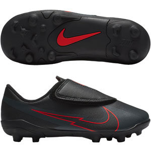 Nike Mercurial Vapor 13 Club FG - Black/Chile Red AT8162-060