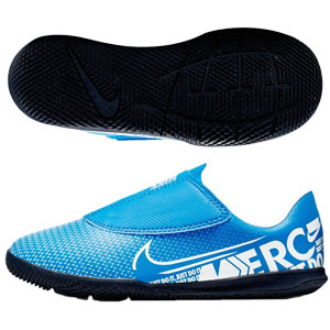Nike Junior Mercurial Vapor 13 Club IC PS - Blue Hero/White Indoor AT8170-414