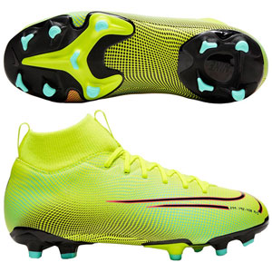 Nike Junior Mercurial SuperFly VII Academy MDS MG - Lemon Venom/Aurora BQ5409-703