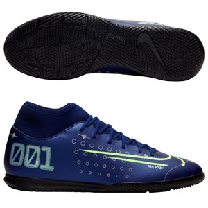 Nike Mercurial Superfly VII Club MDS IC - Blue Void Indoor BQ5462-401