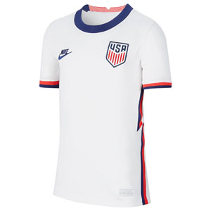 Nike USMNT Youth Home Jersey 2020-2021 CD1060-100