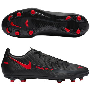 Nike Phantom GT Club FG - Black/Red CK8459-060