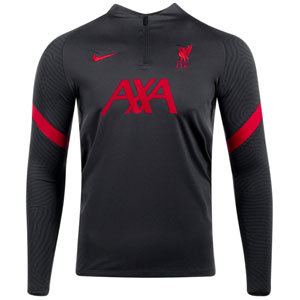 Nike Liverpool Strike Drill Top 2020 - Anthracite/Gym Red CZ2687-060