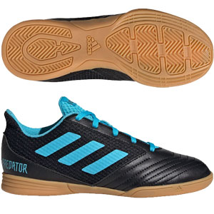 adidas Junior Predator 19.4 Sala IN - Core Black/Bright Cyan Indoor G25830