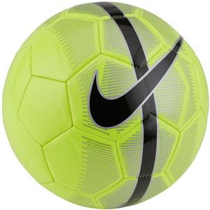 527ff29d1b6 Nike Mercurial Fade Soccer Ball - Volt Metallic Silver Black SC3023-702