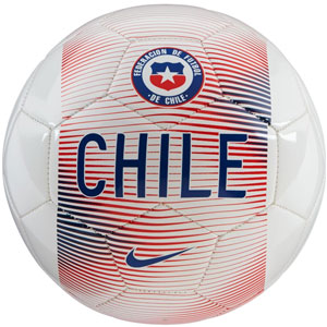 Nike Chile Supporters Ball - White/Chile Red/Gym Blue SC3203-100