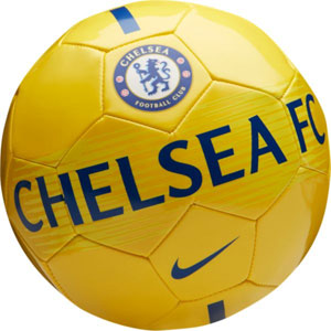 Nike Chelsea FC Supporters Soccer Ball - Tour Yellow/Rush Blue SC3292-719