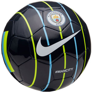 Nike Manchester City Supporters Soccer Ball - Dark Obsidian/Volt/Field Blue SC3293-475