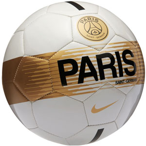 Nike Paris Saint-Germain Supporters Soccer Ball - Light Bone/Black/Gold SC3362-072