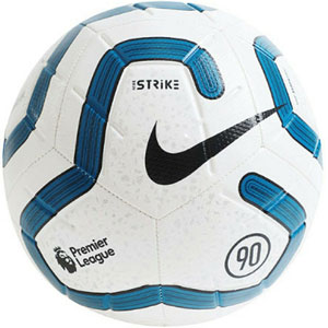 Nike Premier League Strike Soccer Ball - White/Blue SC3552-102