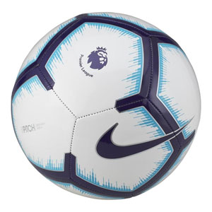 Nike Premier League Pitch Soccer Ball - White/Blue/Purple SC3597-100