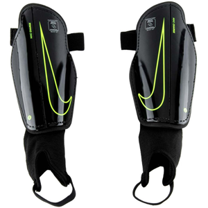 Nike Youth Protegga Flex Shin Guard - Black/Black/Volt - NOCSAE SP2079-010