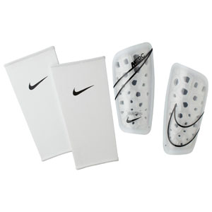 Nike Mercurial Lite Shinguard - White/Black - NOCSAE SP2120-104