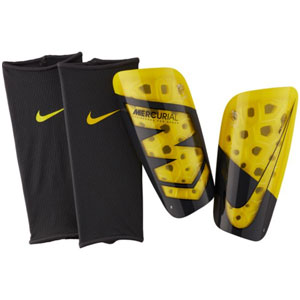 Nike Mercurial Lite Shinguard -  Opti Yellow/Anthracite - NOCSAE SP2120-731