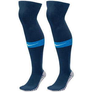 Nike Team Match Fit Over The Calf Socks - Midnight Navy/Game Royal SX6836-413