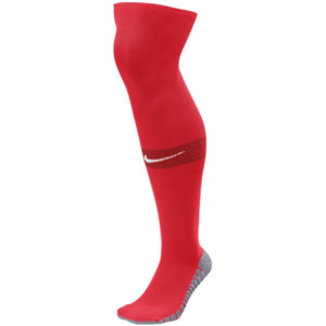 Nike Team Match Fit Over The Calf Socks - Red SX6836-657