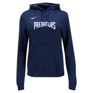 PBG Predators Nike Women's Pullover Fleece Hoodie - Navy PBG-836123-419