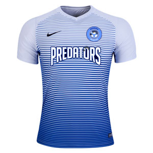 PBG Predators Nike Precision IV Jersey - White/Game Royal/Black PRED-886828-100