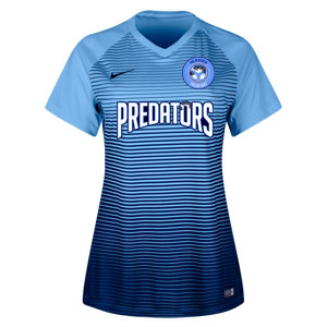PBG Predators Nike Women's Precision IV Jersey - University Blue/College Navy/White PRED-886829-412