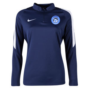 PBG Predators Nike Women's Squad 16 3/4 Zip Jacket - Navy/White PRED-725960-419