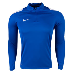 Nike Youth Squad 16 3/4 Zip Jacket - Blue 725996-480
