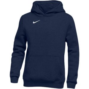 Nike Youth Pullover Fleece Hoodie - Navy 836308-419