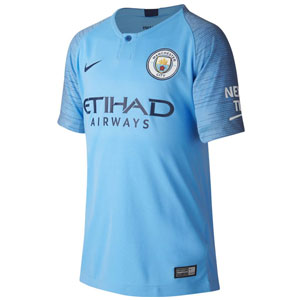 Nike Manchester City Youth Home Jersey 2018-2019 894459-489