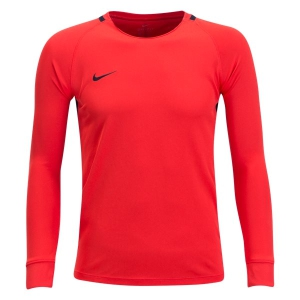 Nike Youth Long Sleeve Park Goalie III Jersey - Habanero Red 894517-634