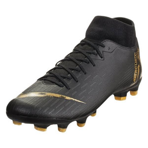 Nike Mercurial SuperFly VI Academy MG - Black/Metallic Vivid Gold AH7362-077