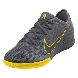 Nike VaporX 12 Pro IC - Dark Grey/Opti Yellow Indoor AH7387-070