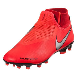 Nike Phantom Vision Academy DF FG - Bright Crimson Metallic Silver  AO3258-600 5a7017168
