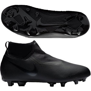 Nike Junior Phantom Vision Academy DF MG - Black/Black AO3287-001