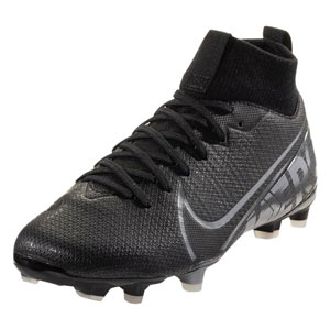 Nike Junior Mercurial SuperFly VII Academy MG - Black/Cool Grey AT8120-001