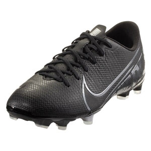 Nike Junior Mercurial Vapor 13 Academy MG - Black/Chrome AT8123-001