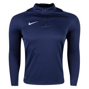 Nike Youth Squad 16 3/4 Zip Jacket - Navy 725996-419