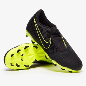 Nike Junior Phantom Venom Academy MG - Black/Volt AO0362-007