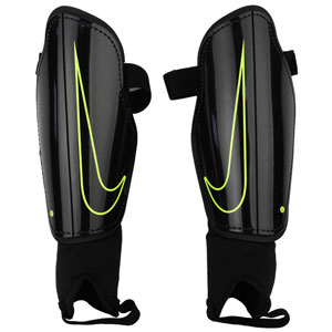 Nike Charge Shin Guard - Black/Volt - NOCSAE SP2093-010